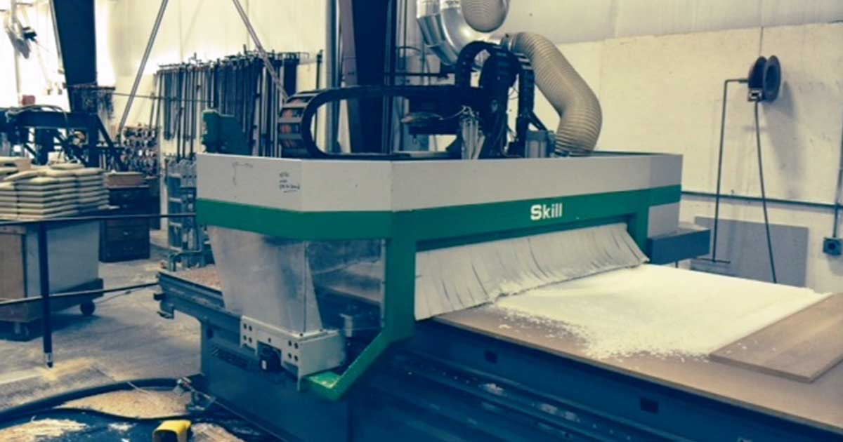 Announcing New CNC Machining Center for Millwork Design and Manufacturing