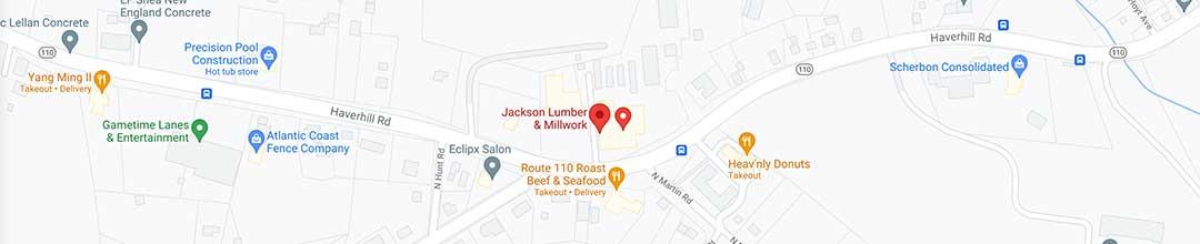 Visit Jackson Lumber & Millwork in Amesbury, MA