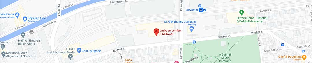 Visit Jackson Lumber & Millwork in Lawrence, MA
