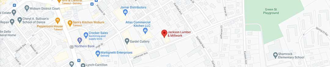 Visit Jackson Lumber & Millwork in Woburn, MA